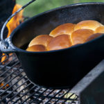 Freshly baked home made bread enjoyed on safari with Okavango Expeditions