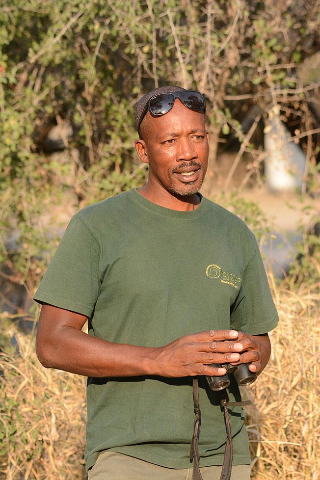 Joe Kandjou Okavango Expeditions professional guide