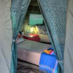Okavango Expeditions client tent