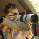 Okavango Expeditions' vehicles are equipped with camera stands
