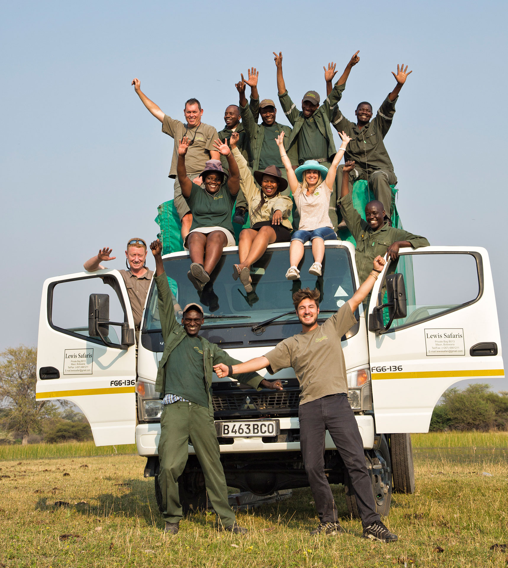 Okavango Expeditions staff