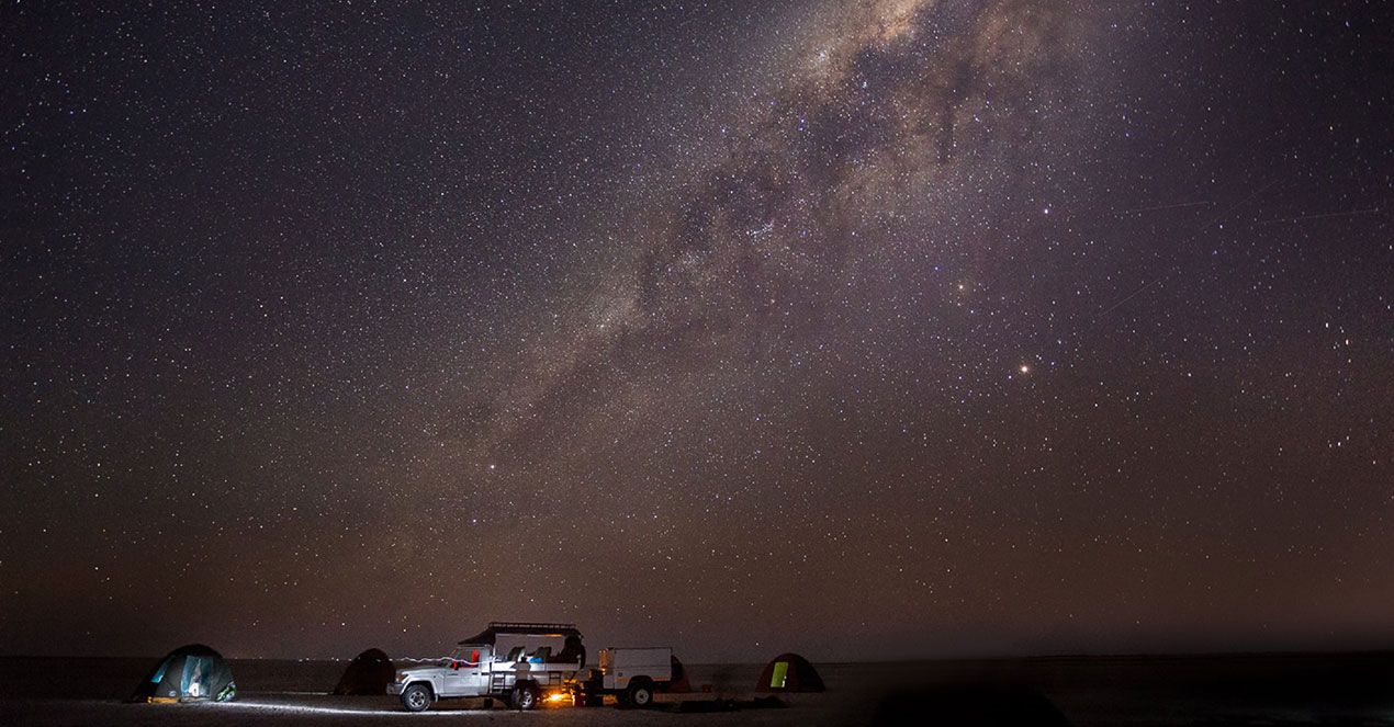 Okavango Expeditions budget safari – a million stars