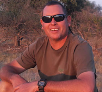 Clint Gielink Okavango Expeditions owner