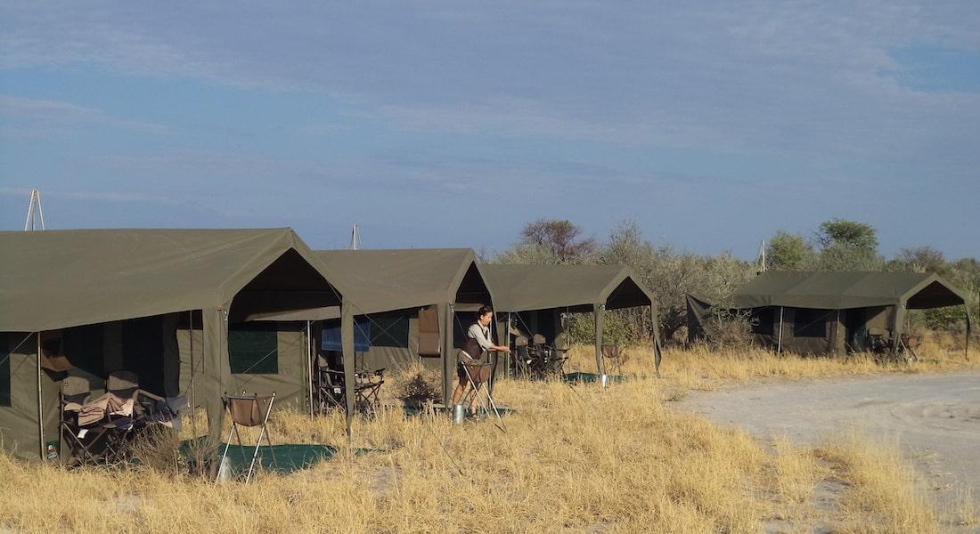 Central Kalahari Game Reserve Camp